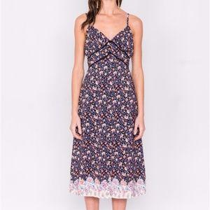 Meadow Multi Floral Midi Dress